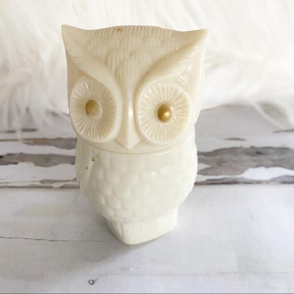 Avon Owl Cream Jar